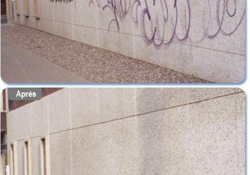 Nettoyage-Enlèvemement de graffiti